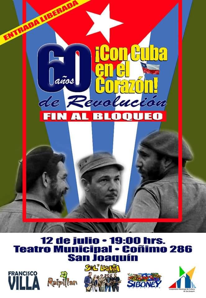 CON CUBA EN EL CORAZÕN
