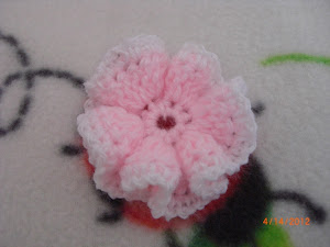 Pink Ruffled Flower