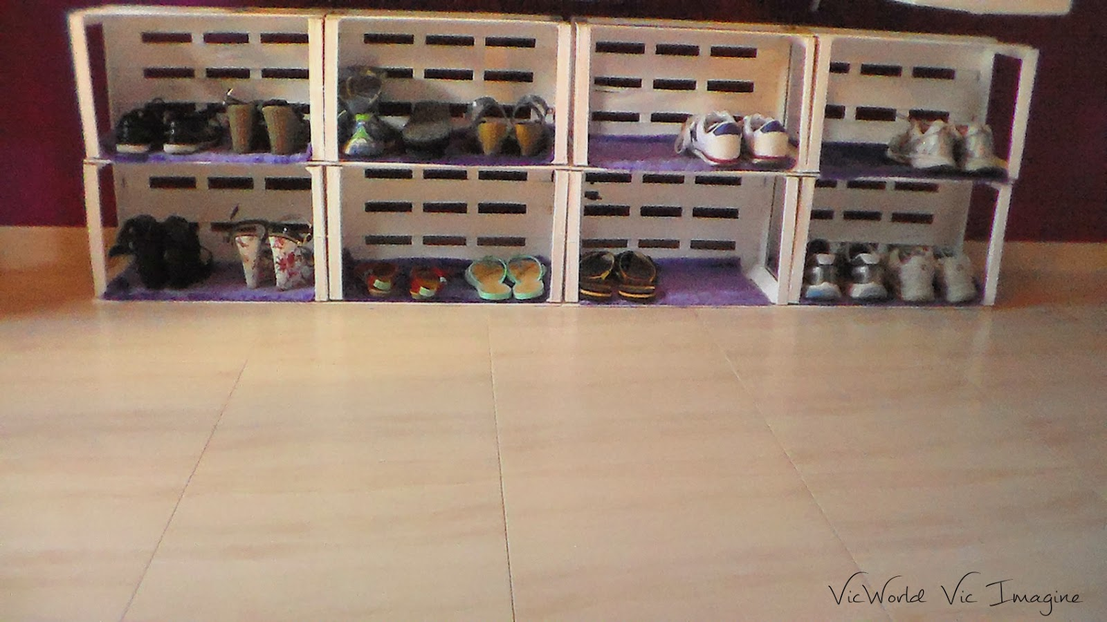 Vicworld vic imagine mi zapatero diy - Ideas para hacer un zapatero ...