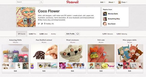 Pinterest par CocoFlower