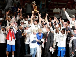Dallas Mavericks nuovi campioni NBA