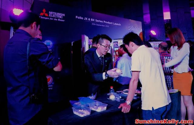 Electric, Folio JX refrigerator, folio BX Refrigerator, mitsubishi malaysia, product demo