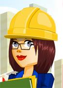 Строим город - Онлайн игра для девочек