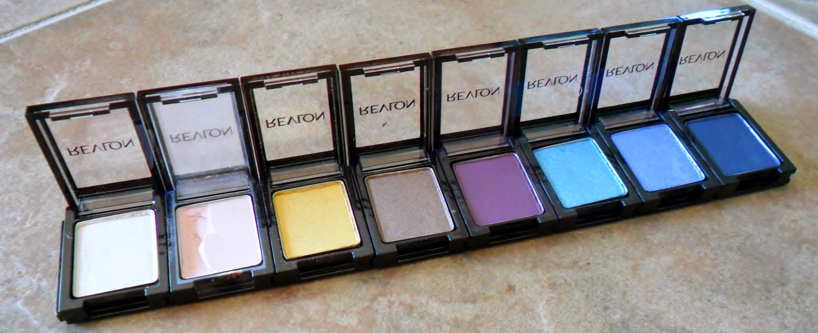 Review Revlon ColorStay Shadowlink Oyster, Blush, Gold, Taupe, Plum, Peacock, Periwinkle, Cobalt