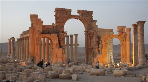 Το Ισλαμικό Κράτος «ναρκοθέτησε την αρχαία Παλμύρα»