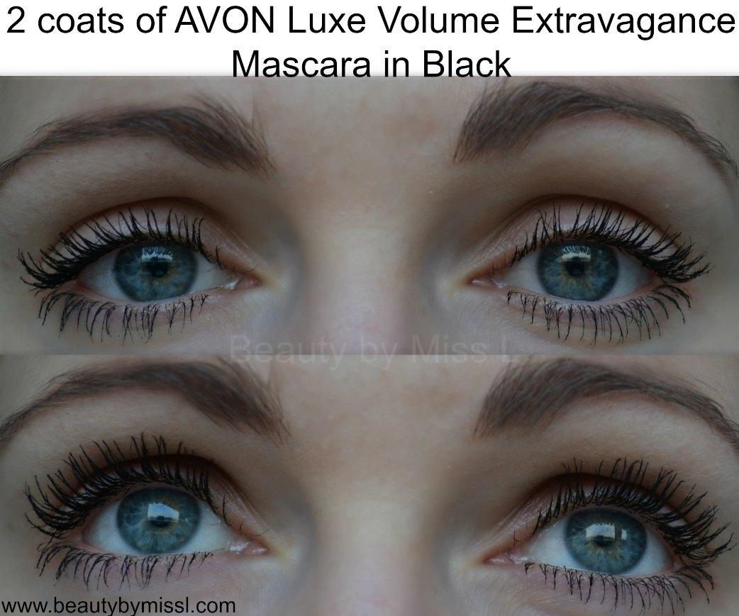 AVON Luxe Volume Extravagance Mascara in Black