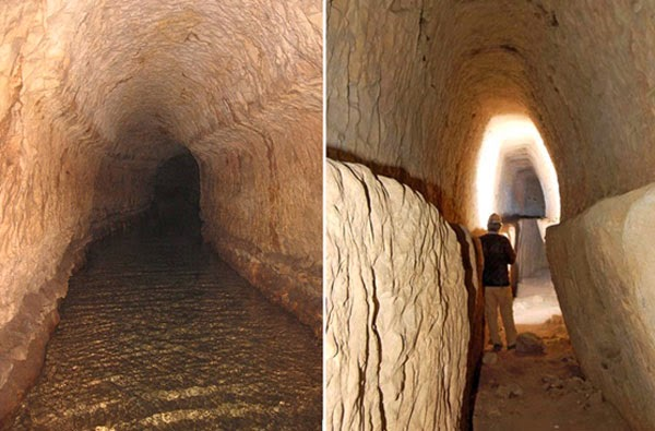 Qanat Firaun, the most spectacular underground aqueduct of the ancient world