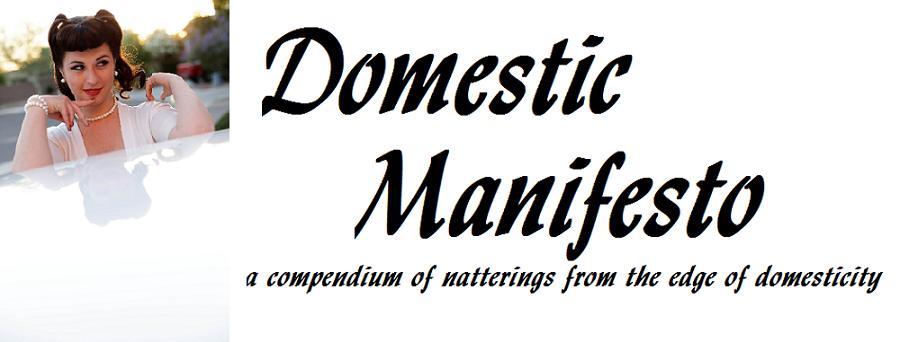 Domestic Manifesto