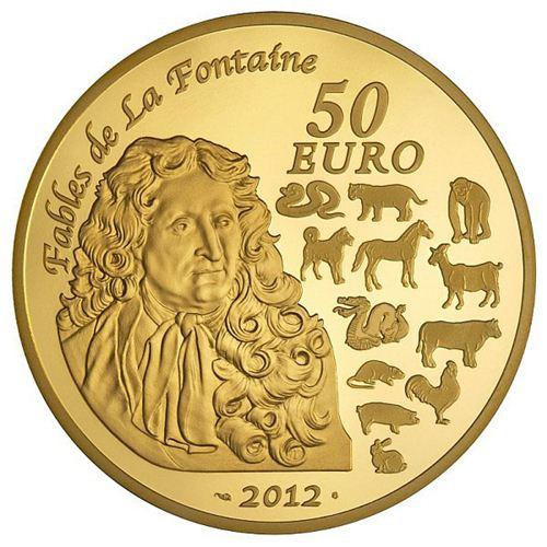 france 50 euro dragon coin 2012 lunaticg coin. Black Bedroom Furniture Sets. Home Design Ideas