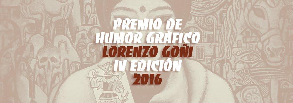 PREMIO DE HUMOR GRÁFICO. LORENZO GOÑI. IV EDICIÓN 2015