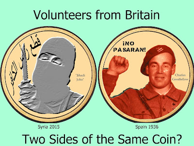 Volunteers from Britain