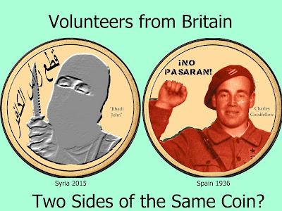 Volunteers from Britain