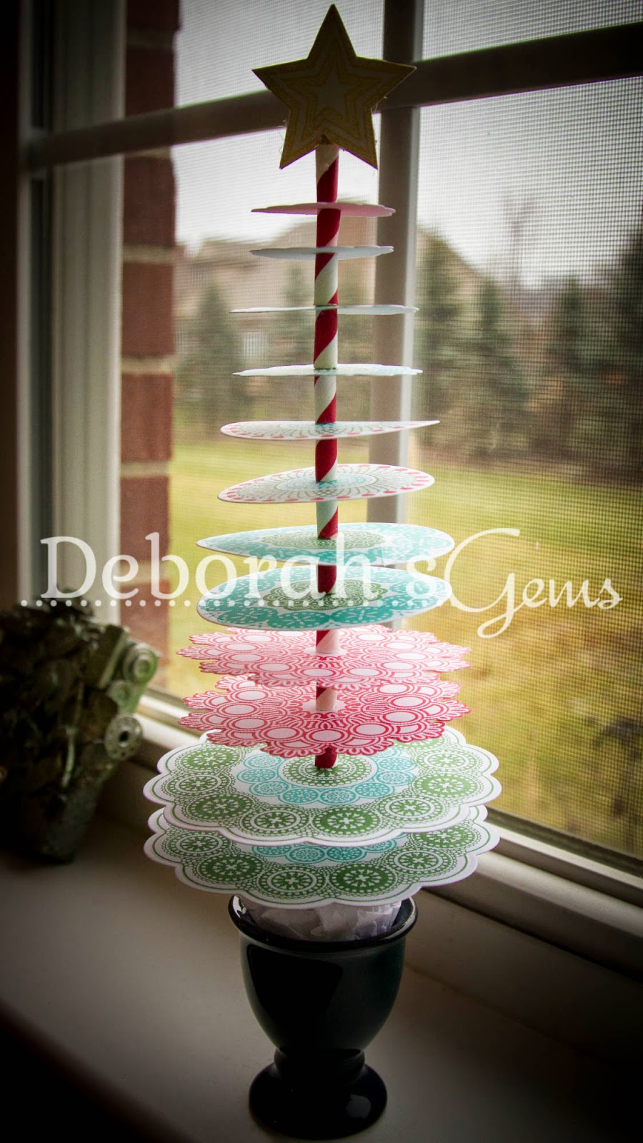 3D Christmas Tree 4 - photo by Deborah Frings - Deborah's Gems