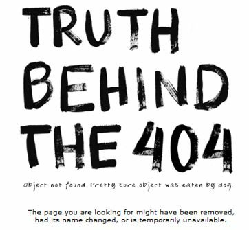 truth behind the 404
