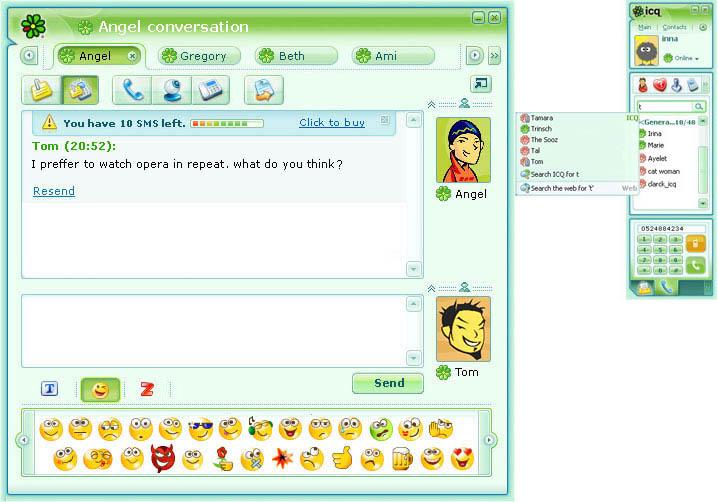 На андроид Картинки. ICQ 6.5 - Аська, скачать аську бесплатно, мобильная а