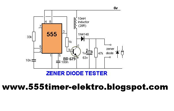 555 timer circuits zener diode tester with 555 timer rh 555timer elektro blogspot com