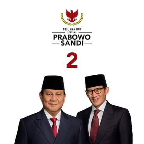 Prabowo Sandi untuk Indonesia 2019