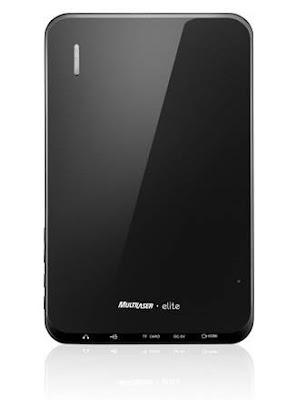 parte traseira do Tablet PC Elite  da Multilaser
