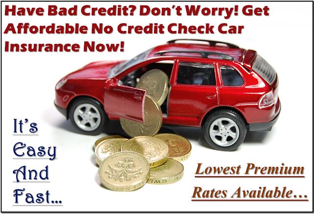 No Credit Check Car Insurance for Bad Credit