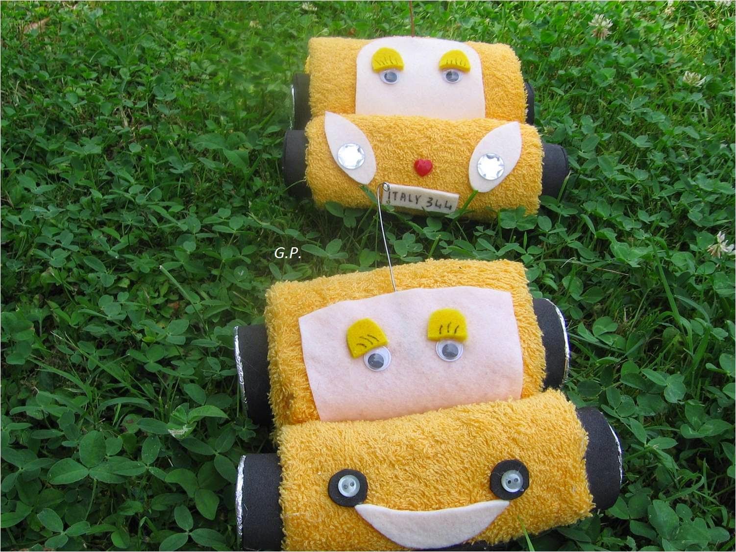 A me piace cosi 39 creazioni con asciugamani auto for Animali con asciugamani