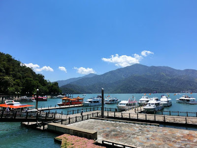 Shuishe Pier at Sun Moon Lake Nantou Taiwan