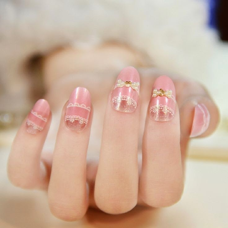 Korean Nail Art Pink ~ the best inspiration for design and color of ...