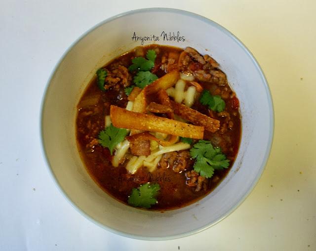 Beef Tortilla Soup from www.anyonita-nibbles.com