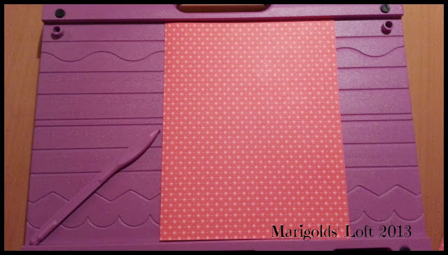concertina card line