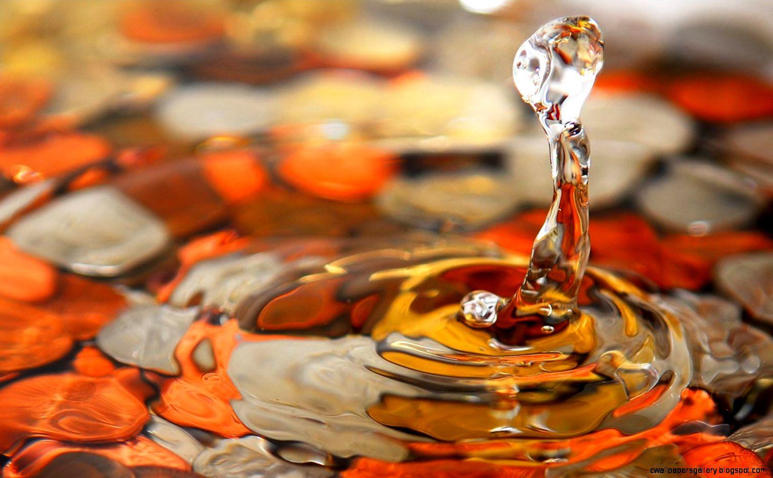 More Beautiful Water Drops Wallpaper  FLgrx Graphics