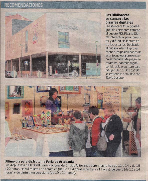 Publicación El Correo de Burgos