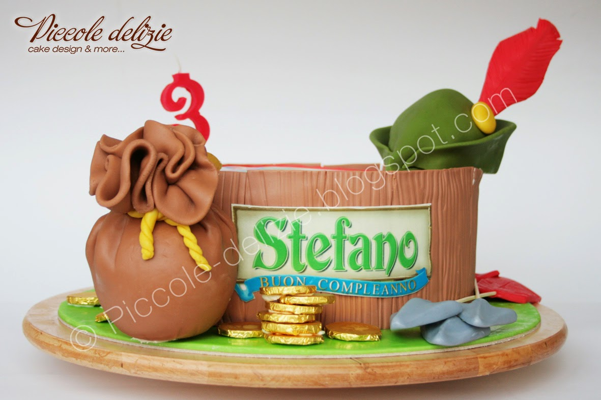 Piccole Delizie Robin Hood Cake Buon Compleanno Stefano