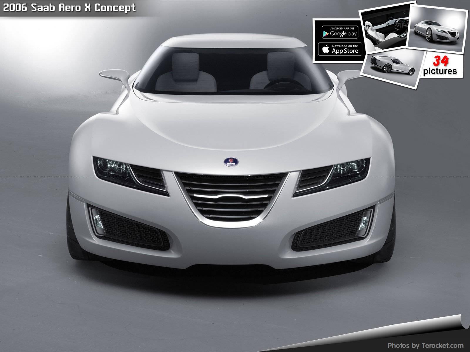 Hình ảnh xe ô tô Saab Aero X Concept 2006 & nội ngoại thất