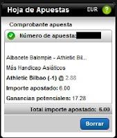 Apuestas Rosberg Albacete-Athletic Bilbao Fútbol – Copa del Rey España Titanbet