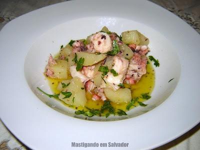 Ivano Bragonzi - Personal Chef: Salada de Polvo