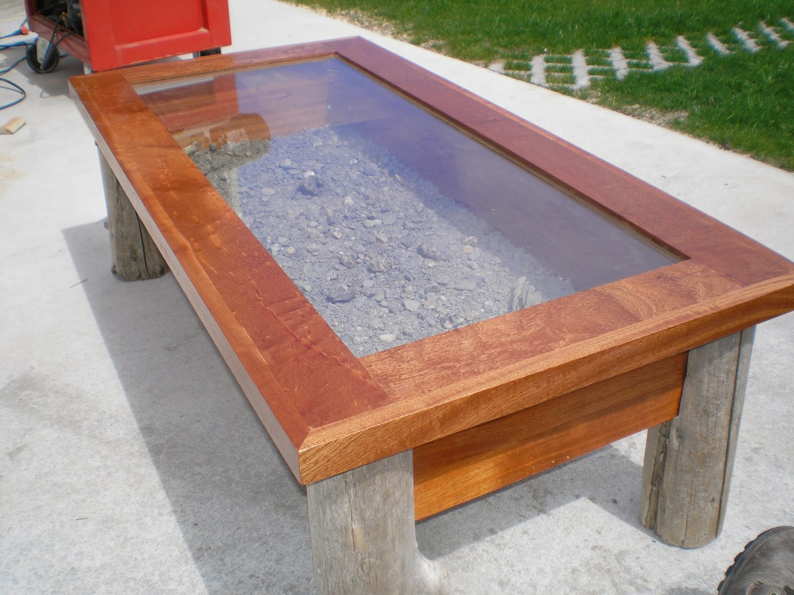 Riverbend Woodworks Trout Stream Coffee Tables