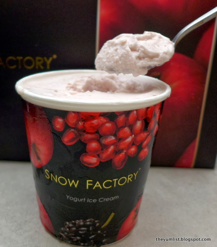 Snow Factory, Avenue K, healthy desserts, frozen yoghurt