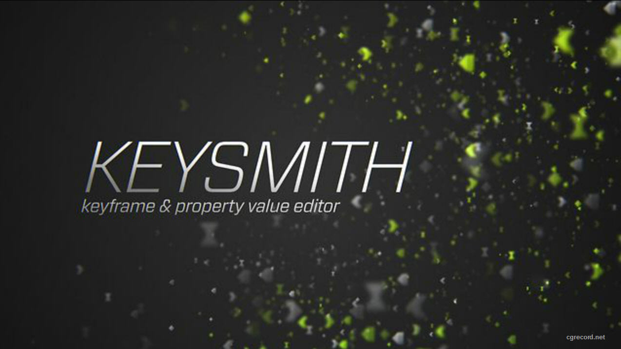 Keysmith for After Effects