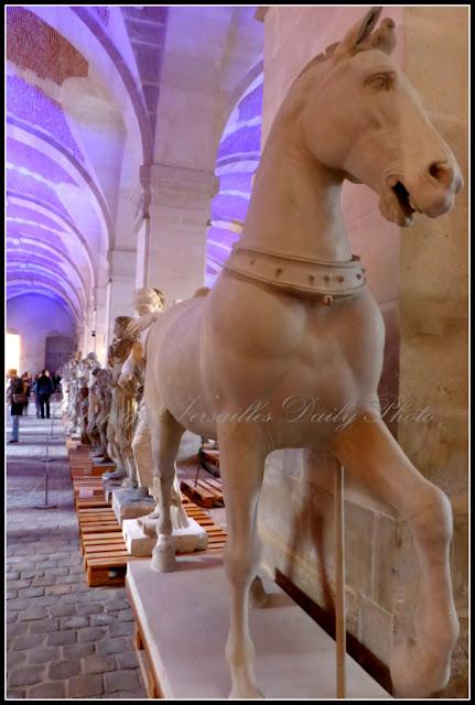 Galerie des Sculptures et Moulages Louvre Versailles