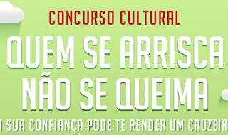 """Concurso Cultural Colgate - """"Quem se arrisca não se queima"""""""