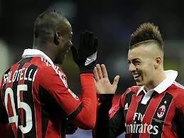 Milan Atlético Madrid rossonero rojiblanco Balotelli El Shaarawy quiniela apuestas Champions octavos de final 2014