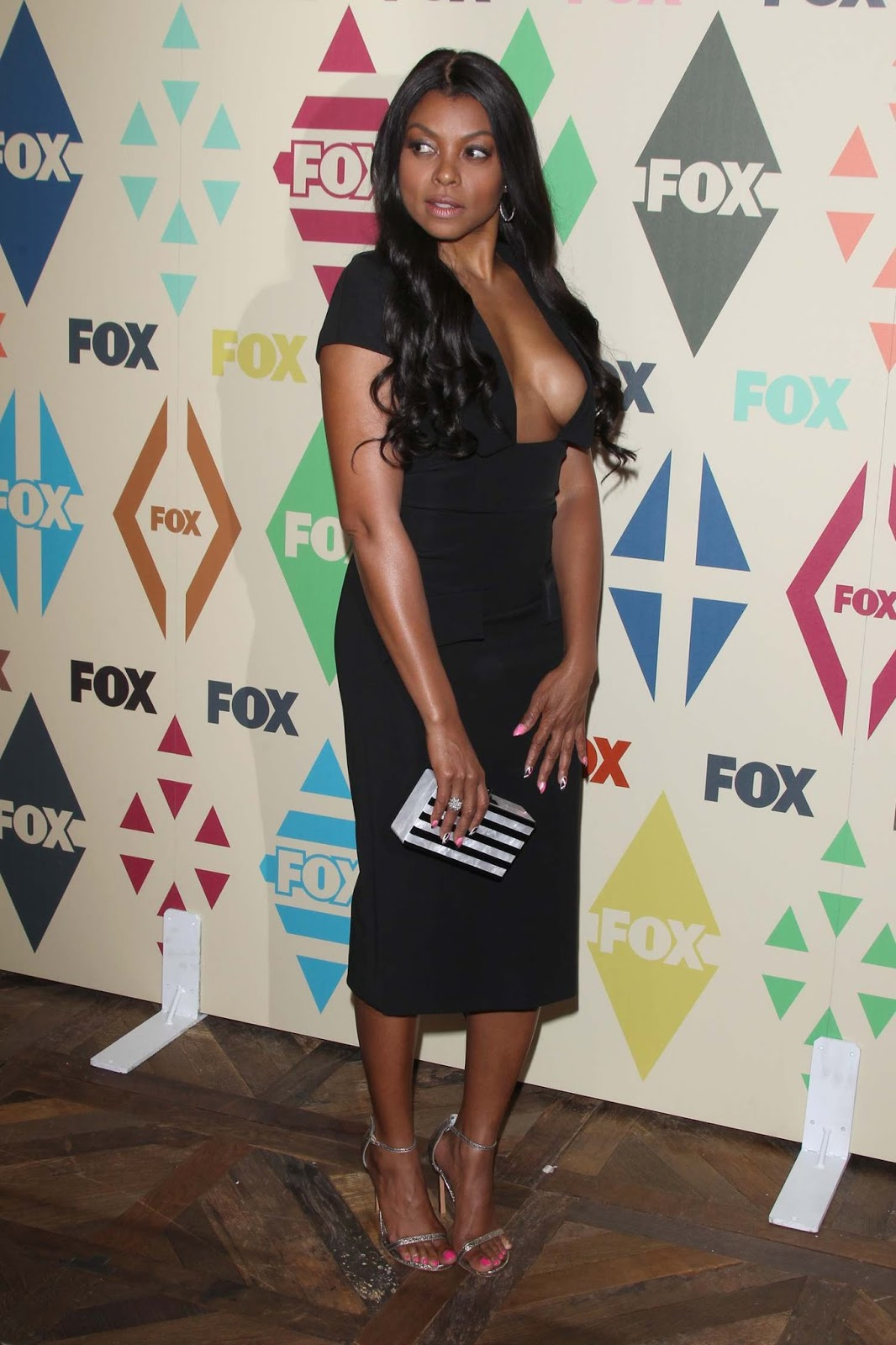 Taraji P. Henson Shows Little To Imagination at FOX Summer TCAs Party 2015