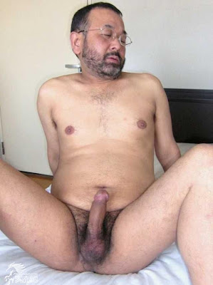 handsome daddies - asian beard gay