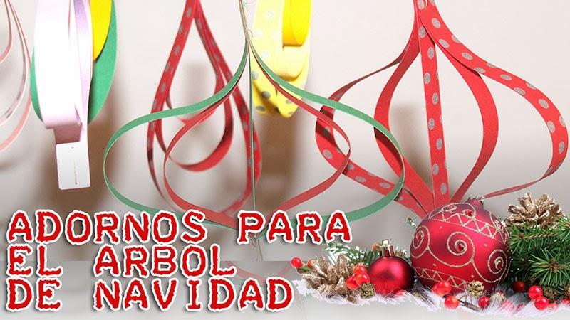 ADORNOS SUPERFÁCILES PARA EL ÁRBOL DE NAVIDAD II