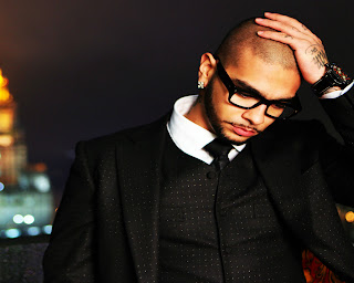 Timati with Suit and Glasses HD Wallpaper