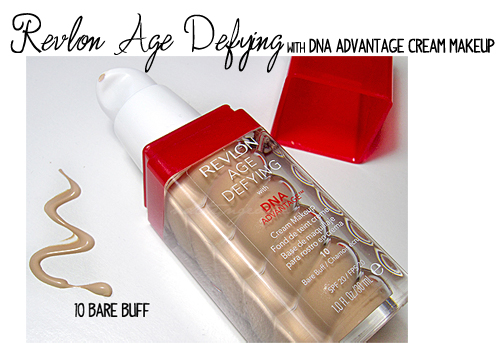 revlon age defying dna foundation review