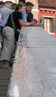 Handlauf der Rialtobrücke, Photot by Gunther H.G. Geick