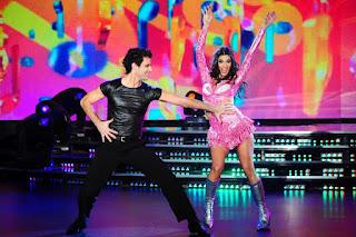 Verónica Perdomo y la Cumbia en Bailando 2012
