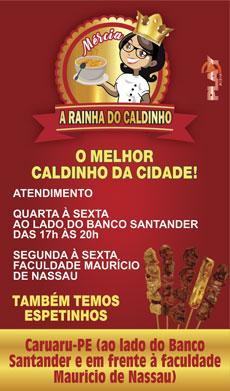 A RAINHA DO CALDINHO