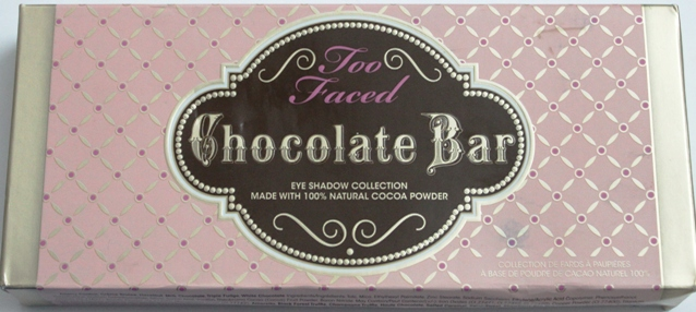 Too Faced Chocolate Bar Eyeshadow palette review, swatches, photos