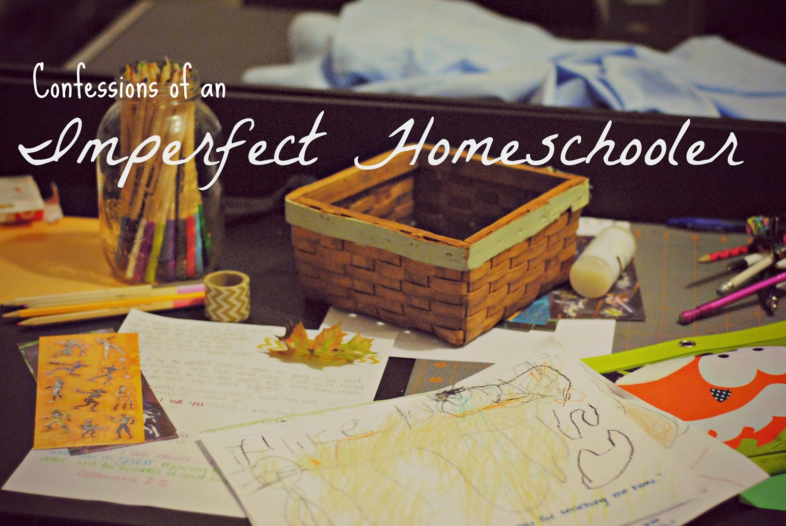 Confessions of an Imperfect Homeschooler